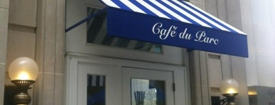 Café du Parc is one of DC power lunch locales.