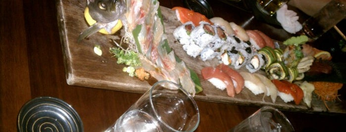 Blue Ribbon Sushi Bar & Grill is one of Vaca.