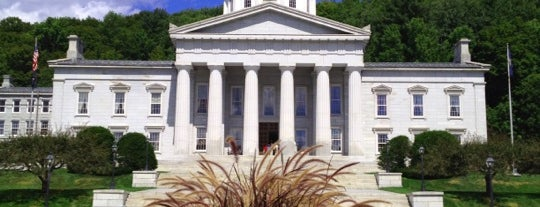 Vermont State House is one of The Crowe Footsteps.