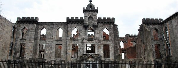 Smallpox Hospital is one of NYC.