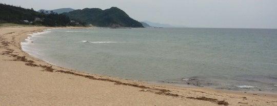 琴引浜海水浴場 is one of 日本の白砂青松100選.