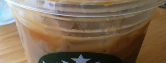 Starbucks is one of My places.