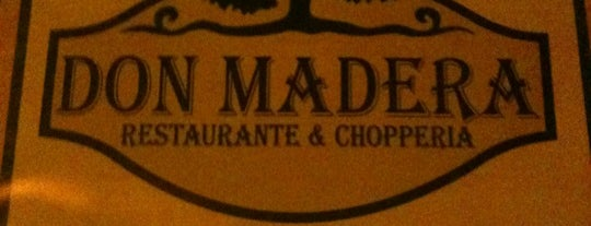 Don Madera - Restaurante e Chopperia is one of André 님이 좋아한 장소.