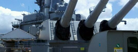 USS Missouri Memorial is one of Hawai'i.