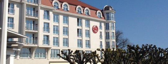 Sheraton Sopot Hotel, Conference Center & Spa is one of Lugares favoritos de Ben.