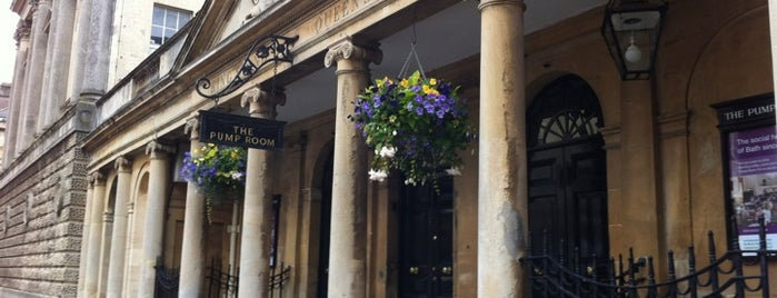 Pump Room is one of Oxford.