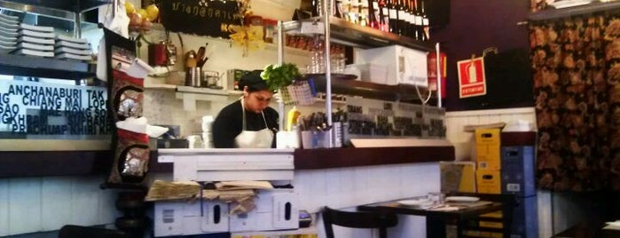 Bangkok Cafe is one of Happy Barcelona.