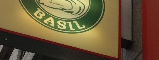 Italian Bar BASIL is one of ぎゅ↪︎ん 🐾さんの保存済みスポット.