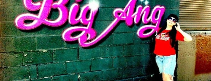 Big Ang Mural - Chicago is one of Big Ang Murals.
