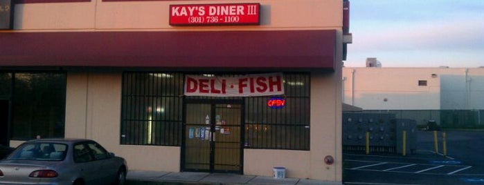 Kay's Diner II is one of Arthur's Great Place To Eat.