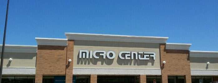 Micro Center is one of Places not to eat at again.