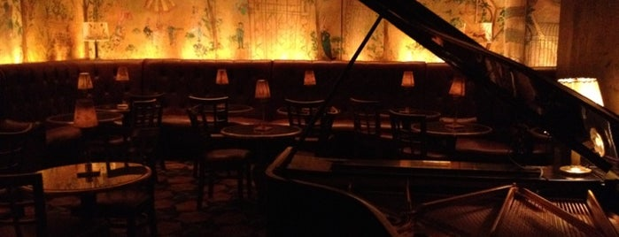 Bemelmans Bar is one of Esquire's Best Bars in New York, 2013.