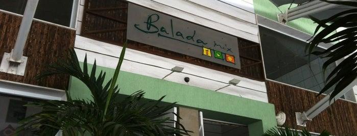 Balada Mix is one of 10 lugares para esticar a praia após o por do sol.