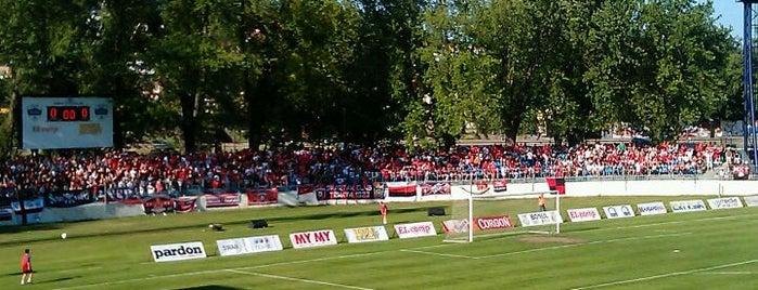 Štadión pod Zoborom is one of Prvoligové futbalové štadióny.