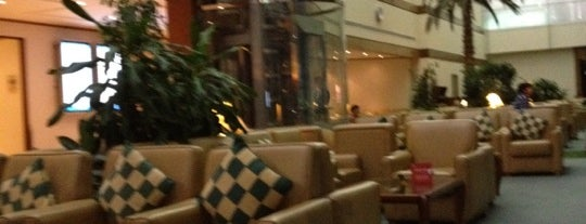 The Emirates Lounge is one of DUBAI.