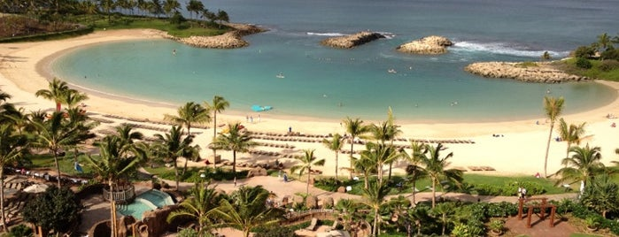 Aulani Beach Cove is one of hawai best.