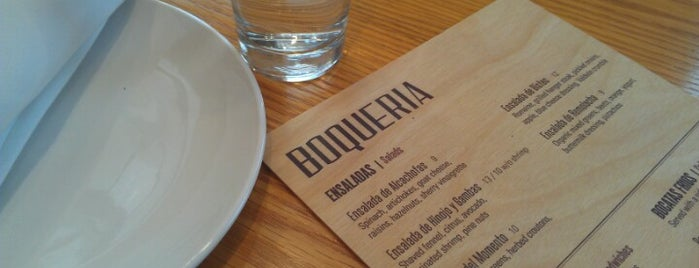 Boqueria is one of dc drinks + food + coffee.