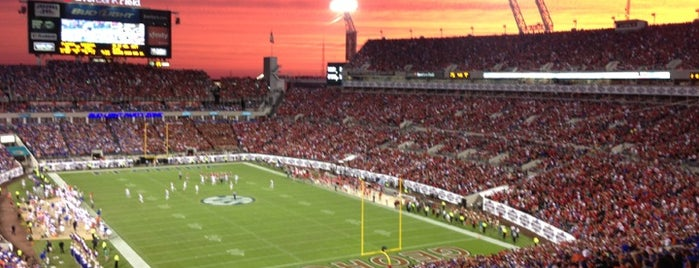 TIAA Bank Field is one of sports arenas and stadiums.