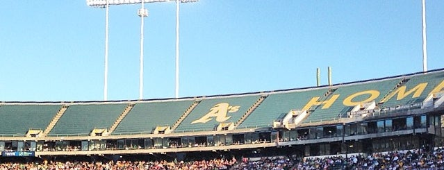 Oakland A's Game is one of FAVORITE :-).