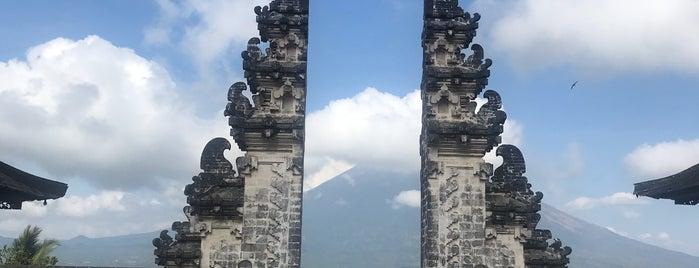 Pura Penataran Agung Lempuyang is one of Bali.