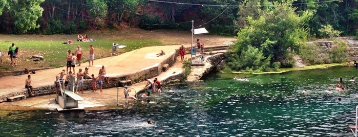 Barton Springs Pool is one of Austin Recs.