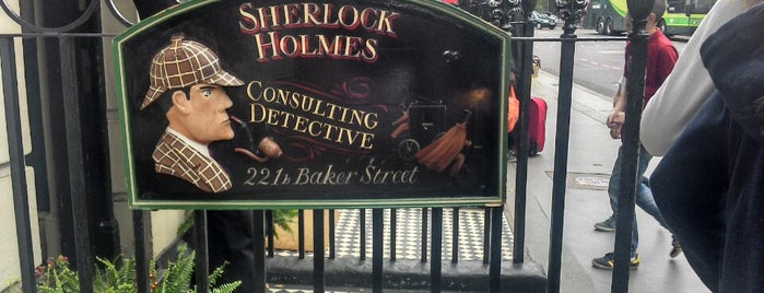 The Sherlock Holmes Museum is one of London Sightseeing.