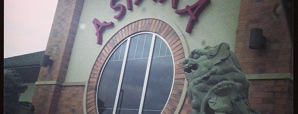 Asiana Fine Dining Restaurant is one of Tempat yang Disukai Gregory.