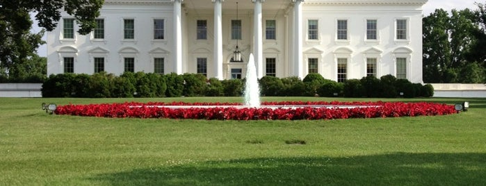 The White House is one of Go Ahead, Be A Tourist.