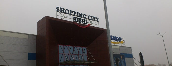 Shopping City Sibiu is one of Lieux sauvegardés par Thomas.