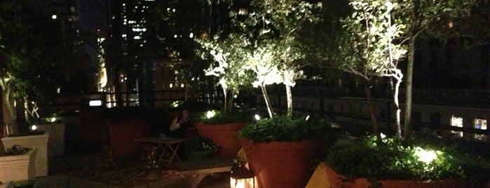 Sky Terrace at Hudson Hotel is one of NEW YORK CITY : Manhattan in 10 days! #NYC enjoy.