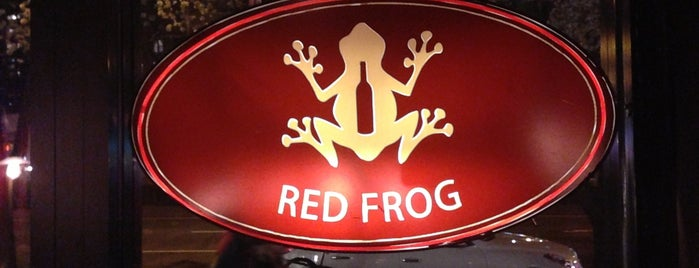 Red Frog is one of Locais salvos de Michael L.