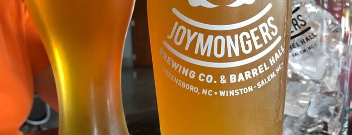 Joymongers Brewing Co. is one of Breweries or Bust 2.