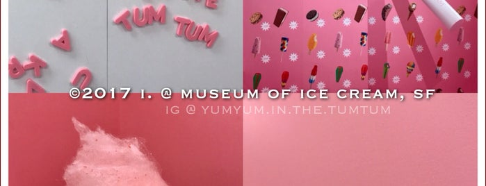Museum of Ice Cream is one of SF 2018.