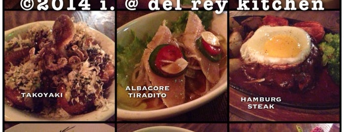 Del Rey Kitchen is one of Locais salvos de Dress for the Date.