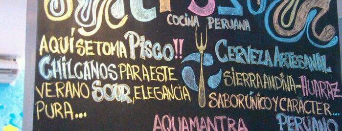 Tr3s cocina peruana is one of Restaurantes.