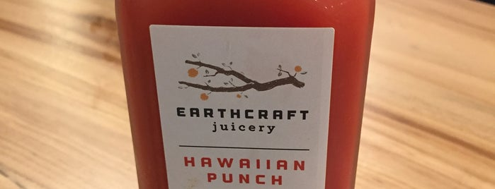 Earthcraft Juicery is one of HOUSTON!.