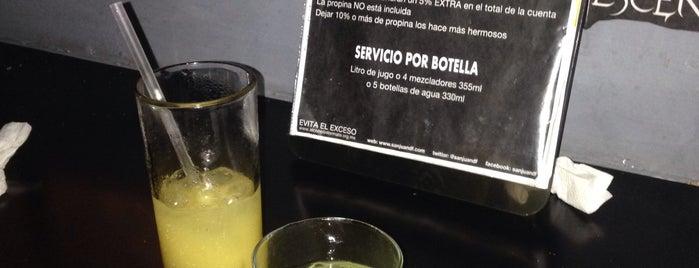 Bar San Juan df is one of Locais curtidos por Alejandra.