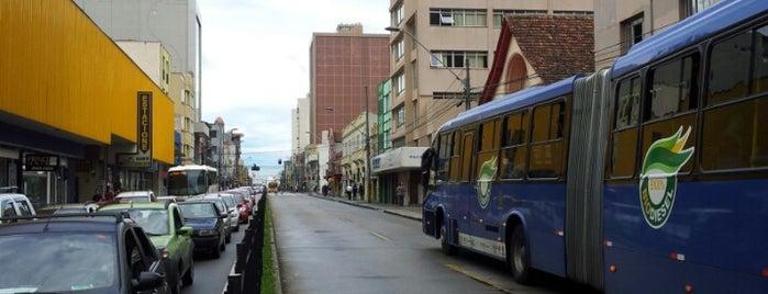 Avenida Marechal Floriano Peixoto is one of Curitiba.
