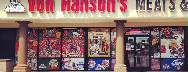Von Hanson's Meats and Spirits is one of Food & Drink.