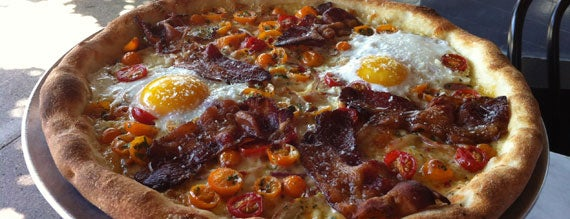 Gioia Pizzeria is one of 6 All-Star Breakfast Pizzas Around SF.