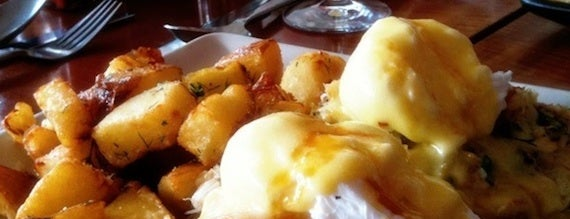 Mission Bowling Club is one of 10 Best Eggs Benedicts in SF.