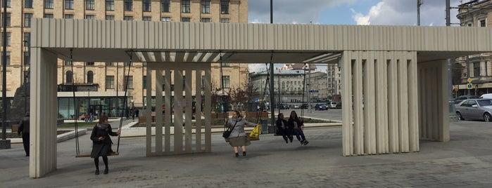 Триумфальная площадь is one of Игорь : понравившиеся места.