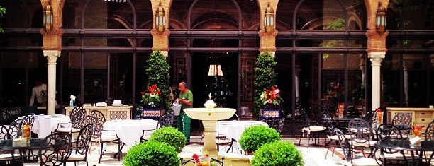 Hotel Alfonso XIII is one of Seville.