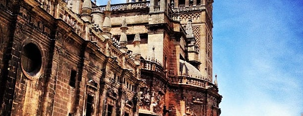 Cathedral of Seville is one of Spain-Sevilla.