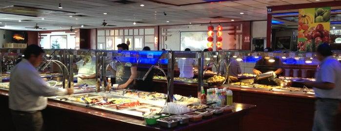 Golden China Super Buffet is one of Sand : понравившиеся места.