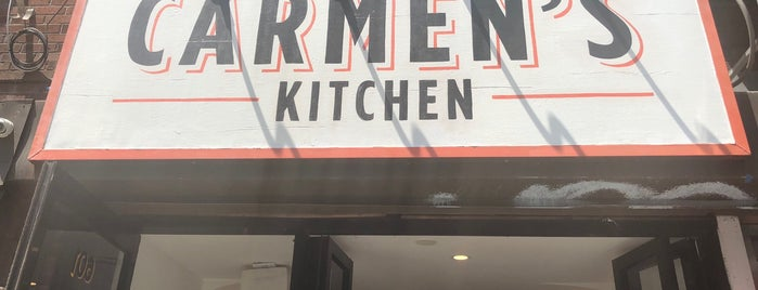 Carmen's Kitchen is one of Tempat yang Disukai Peter.