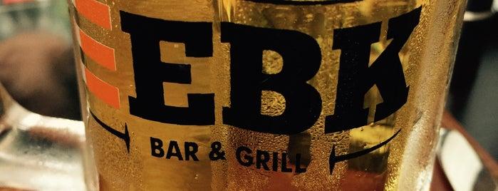 EBK Bar & Grill is one of Locais curtidos por Carol.