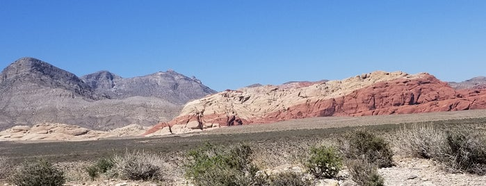 Red Rock Canyon National Conservation Area is one of Tempat yang Disukai Andrew.
