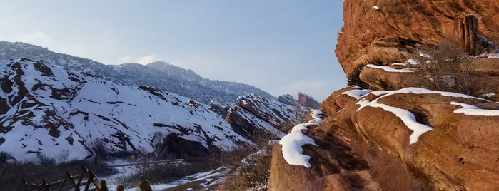 Red Rocks Park & Amphitheatre is one of Andrew 님이 좋아한 장소.