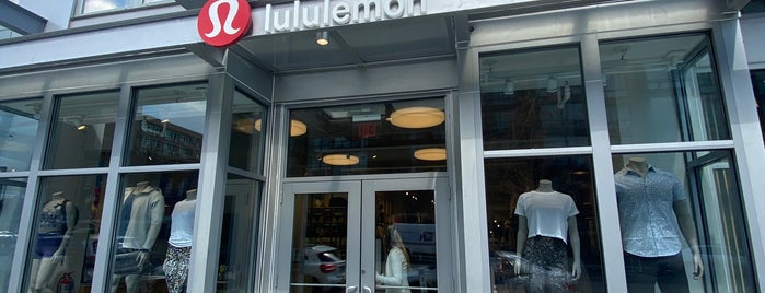 lululemon is one of Washington DC.